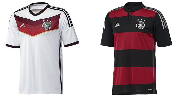 2014世界杯球衣_2014年世界杯德国队主客场球衣